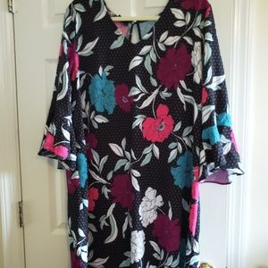 ATTENTION FLORAL DRESS XXL NEW NO TAGS